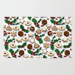Christmas Treats and Cookies Rug