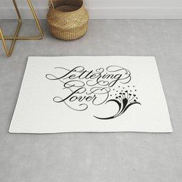Lettering Lover Rug