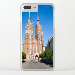 Cathedral St. John In Wroclaw Clear iPhone Case