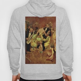 Metropolis No. 2 - Gross Stadt by Otto Dix Hoody