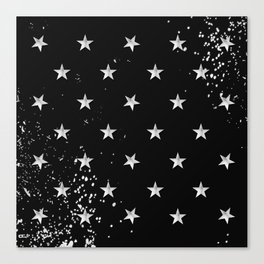 Grunge Spangled Banner Canvas Print