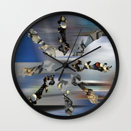 Summertime in Ile de Ré ( France) Wall Clock