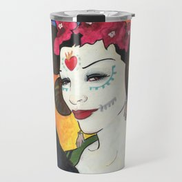 Untitled (All Souls Procession 2012) Travel Mug