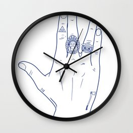 Make My Hands Famous - Part V Wall Clock