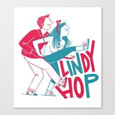 Lindy Hop - Tandem Canvas Print
