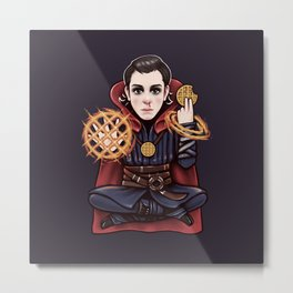 Doctor Stranger Metal Print