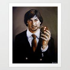We'll Miss You, Steve.  Art Print