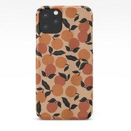 Seamless Citrus Pattern / Oranges iPhone Case