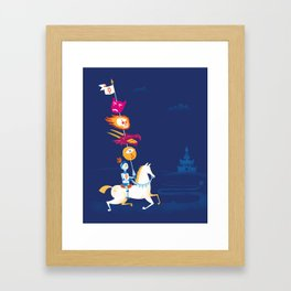 Lancelot Framed Art Print