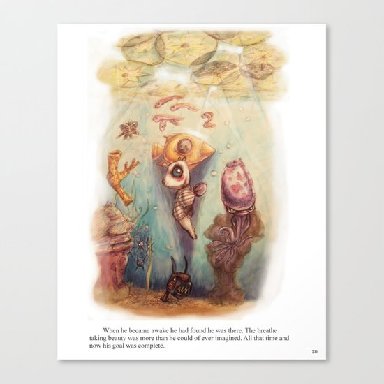 Page 80 Canvas Print