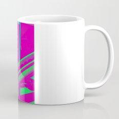 Industrial Abstract Purple Coffee Mug