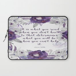 What You Read Laptop Sleeve