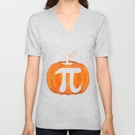 Pi Pumpkin Unisex V-Neck
