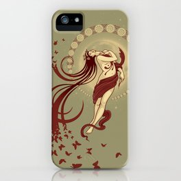 Madame Butterly iPhone Case