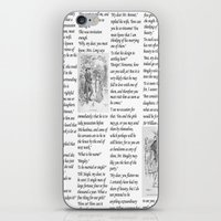 pride and prejudice iPhone & iPod Skins featuring Pride and Prejudice by Rachel Bradford