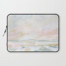 Golden Hour - Pastel Seascape Laptop Sleeve