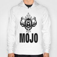 fitness Hoodies featuring MOJO FITNESS  by Robleedesigns