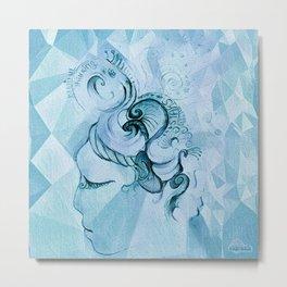 Aelita: Beautiful Thinking Metal Print