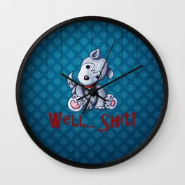Well...Shit Wall Clock