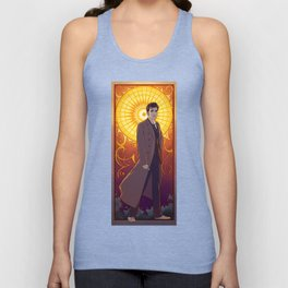 The 10th Doctor Unisex Tank Top