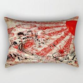 For Japan. Rectangular Pillow