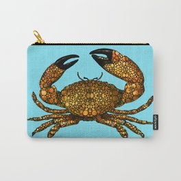 Stone Rock'd Stone Crab By Sharon Cummings Carry-All Pouch
