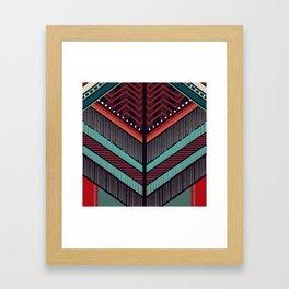 BALMAIN Inspired Pattern Framed Art Print