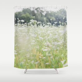 In a Field of Wildflowers Shower Curtain