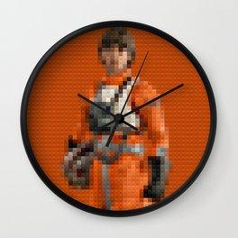 Luke Pilot - Legobricks Wall Clock