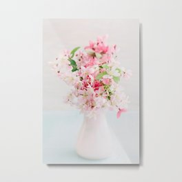 Cherry blossom bouquet Metal Print