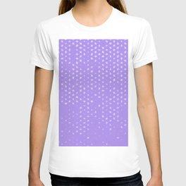 leo zodiac sign pattern pu T-shirt