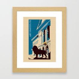 Art Institute Chicago Framed Art Print