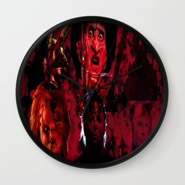 Masters Of All Horrors Wall Clock