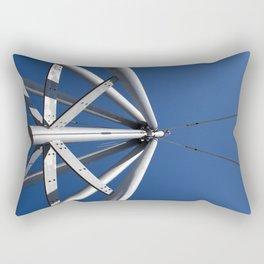 Sky and steel Rectangular Pillow