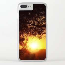 Sunset Silhouettes | Beautiful Nature Clear iPhone Case