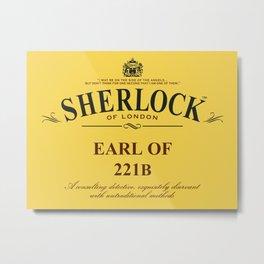Earl of 221B Metal Print