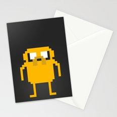 jake pixel Stationery Cards