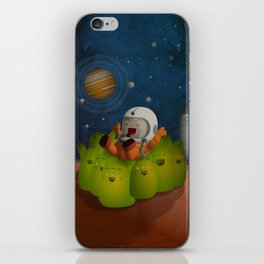 Welcome to mars! iPhone Skin