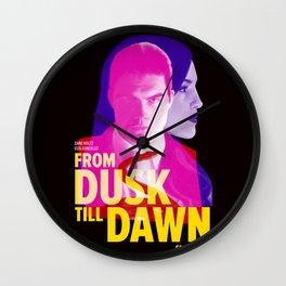 From Dusk Till Dawn II - Richie & Santanico Wall Clock