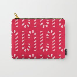 Candy Cane Carry-All Pouch