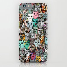 Gemstone Cats iPhone 6 Slim Case