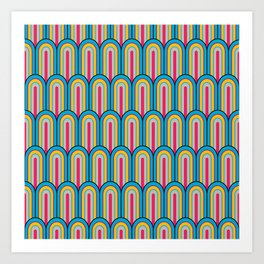 Vaulted vintage chic Art Print