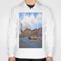 street Hoodies featuring street by  Agostino Lo Coco