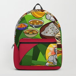Hanuman's Meal Backpack