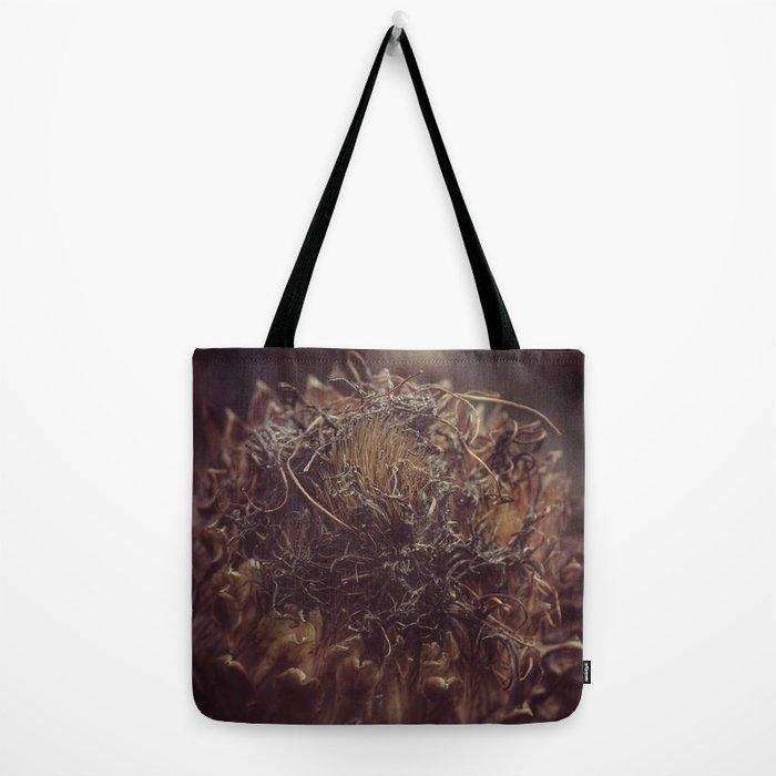 Dead Flower Tote Bag