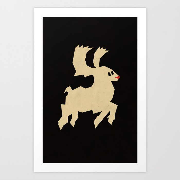 Discover the motif RUDOLPH by Yetiland as a print at TOPPOSTER