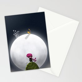 ...And the Moon Stationery Cards