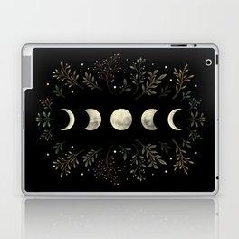 Moonlight Garden - Olive Green Laptop & iPad Skin