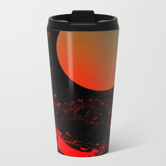 Dust 03 - Post Biological Universe Metal Travel Mug