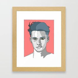 Stubborn Framed Art Print
